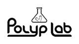 logo Polyp Lab produits marins pour coraux