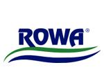 logo ROWA résine et filatration pour aquarium eau de mer
